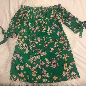 VINCE CAMUTO off Shoulder Floral Dress*NWT